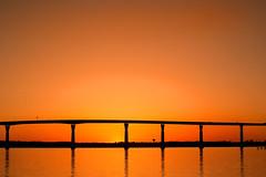 The Bridge 3-0 F LR 4-21-18 J562 (sunspotimages) Tags: bridge sunsetssunrises sunrise sunrisesunset sunsetsunrise sunset architectural architecture orange sunrisesunsets