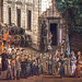 detail 4 - Procession of Our Lady of Grace in Front of Krasinski Palace - Bernardo Bellotto