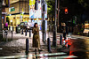 Tokyo - Night at Shinjuku 24_04_18 (Alessandro Dozer Fondaco) Tags: tokyo giappone japan shinjuku notte night street strada pioggia rain luci colori colours lights ragazza girl incrocio crossing