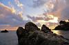 levanto sunset (poludziber1) Tags: levanto liguria italia italy travel beach sunset clouds
