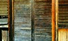 Protection (losy) Tags: nursery shutters wood colors holz lamellen aged losyphotography