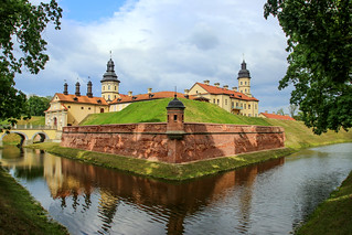 Nesvizh castle, Nesvizh, Belarus