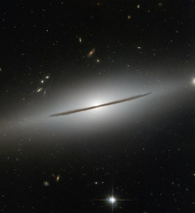 Edge-On Galaxy NGC 1032 (sjrankin) Tags: ngc1032 edited nasa 15may2018 galaxy spiralgalaxy stars esa europeanspaceagency hst hubblespacetelescope pr primage