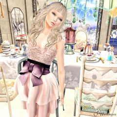 .FlowerDreams.: Barbie - Champagne @68Main Event (Ombrebleue Winsmore) Tags: 68mainevent flowerdreams dress champagne fashion look couture