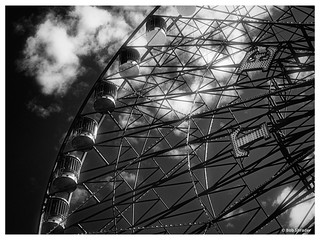 Texas Star in Faux Infrared
