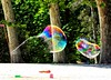 Bubbles in the forest (irebch) Tags: bubbles parqueretiro madrid colores