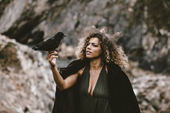 (Delissa McWilliams Photography) Tags: photoshoot west lulworth coast fashion dragons raven rocks game thrones vsco conceptual inspiration dragon magical battle war queen mother