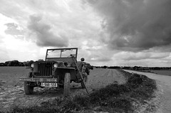 Driving an army car (simonclaeye) Tags: army ww2 car cars belgium willys nature driving nikon nikond7000 nikond outside outdoor