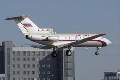 RA-87972 Yakovlev Yak-40 Rossiya - Special Flight Squadron (natan_ivanov83) Tags: vko vnukovo uuww spotting yakovlev yak42