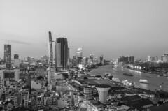 ho chi minh city (Greg Rohan) Tags: monochrome blackandwhite bw blackwhite architecture skyscrapers skyscraper skyline building buildings cityscape city saigon hochiminhcity vietnam asia d7200 2017 nikon nikkor
