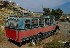 Like the back end of a bus (frattonparker) Tags: btonner lightroom6 nikond7000 raw frattonparker bus derelict abandoned roadside truck bedford cyprus