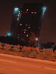 Pending Twin Towers (d1l093) Tags: twin orange is new black a5100 night nightshoting grading orangy 28mm kiron longexposure longexpo nightcrawler architecture building sonya5100 sony