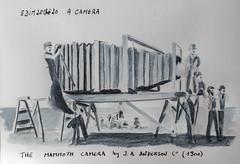 Edim2018 #20 A Camera (chando*) Tags: aquarelle croquis edim2018 monochrome sketch watercolor