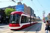 TTC 4444 Flexity Outlook LRV Southbound On Spadina Ave ROW On Route 510 At Queen St W (drum118) Tags: ontariophoto torontophoto transitttc ttcflexityoutlooklrvfleet builtinthunderbay builtbybombardier ttc4444flexityoutlooklrv arrivedseptember142017 enterserviceoctober072017 lrvsouthboundonspadinaaverowonroute510 atqueenstw streetcar tram trolleycar lrvlightrailvehicle