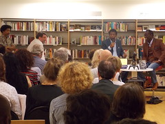 Animation - Rencontre avec Dany Lafferière et Alain Mabanckou (bib2paris) Tags: bibliothèque library paris