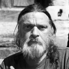 Mike (D John Walker LRPS) Tags: norfolk uk blackandwhite street person man beard