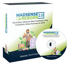 Madsense Reborn 2.0 Review – Passive 3+ Figure Profits Per Day (Sensei Review) Tags: internet marketing madsense reborn 20 bonus download oto reviews testimonial tom yevsikov