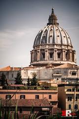 San Pietro, Roma | skyline. (Michele Rallo | MR PhotoArt) Tags: michelerallomichelerallomrphotoartemmerrephotoartphotopho san pietro skyline landscapeph landscape cupola cupolone lazio cielodiroma