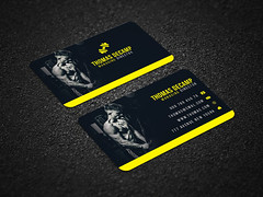 Creative-Fitness-Business-Card (MD SHUVO HOSSAIN) Tags: abstract art blackandwhite blue bluebusiness businesscard card clean color colorful cool corporate creative divergent elegant minimal new personal printtemplate professional proposal red shape studio stylish template visitingcard