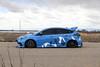 Ford Focus RS on TSW Mosport concave wheels - 7 (tswalloywheels1) Tags: bagged air suspension camo wrap blue ford focus rs mk3 tsw mosport concave aftermarket wheel wheels rim rims alloy alloys