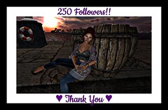 ♥ Thank You, 250 Followers!! ♥ (Adeline.Borkotron) Tags: sl secondlife thankyou 250followers thanks fingerheart