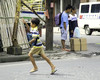 On The Run (Beegee49) Tags: street boy men waiting running waving bacolod city philippines