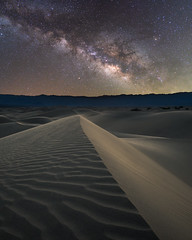 Mesquite Dunes Milky Way (RyanLunaPhotography) Tags: california deathvalley fuji fujifilm nationalpark socal southerncalifornia xt2 desert landscape