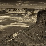 The Immense Vastness of Canyonlands National Park (Black & White) thumbnail