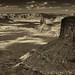 The Immense Vastness of Canyonlands National Park (Black & White)