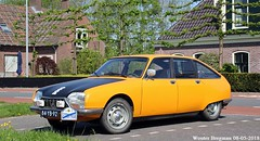 Citroën GS X2 1975 (XBXG) Tags: 84yb92 citroën gs x2 1975 citroëngs gsx2 ac328 jaune hélianthe yellow orange kanaaldijk koedijk nederland holland netherlands paysbas vintage old classic french car auto automobile voiture ancienne française vehicle outdoor 2018 oranje