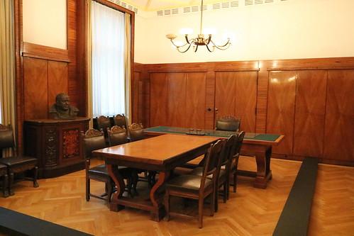 Deutsch-Russisches Museum Berlin-Karlshorst: Arbeitszimmer des Chefs der SMAD