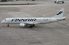 Embraer EM-190LR OH-LKO Finnair (EI-DTG) Tags: planespotting aircraftspotting manchesterairport man ringway 02may2018 emb embraer190 junglejet ohlko finnair