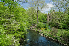 The Mill (JMS2) Tags: nybg scenic snuffmill newyorkbotanicalgarden bronxriver nyc landscape spring