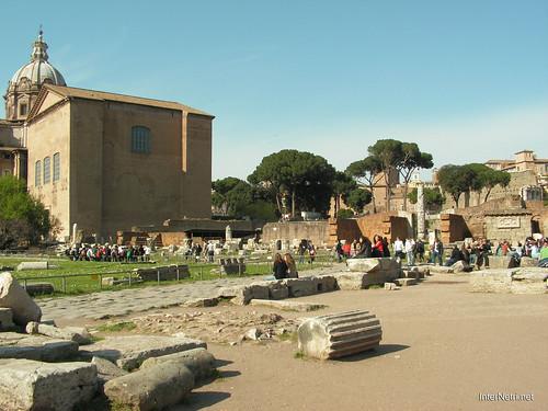 Римський форум, Рим, Італія InterNetri Italy 493