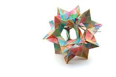 Ostara Kusudama (Akizhi) Tags: kusudama origami modularorigami paper art folding