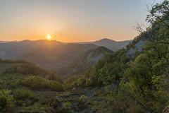 Monte Sole Sunset (Alessio Martelli) Tags: montesole emiliaromagna italy landscape paesaggio montagne mountains appennino nature natura amazing beautiful trekking tramonto sunset sunshine nofilter twilightscapes color photography sonyalpha