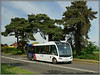 Igo, Thurlaston (Jason 87030) Tags: igo optare solo bus 580 rugby warwickshire coventry midlands yj66anx may 2018 white livery route sony alpha a6000 ilce nex trees