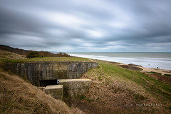 German Bunker - Omaha Beach, France (www.caseyhphoto.com) Tags: d800 europe france nikkor nikon french america allied soldiers landings normandy 1635f40 travel traveling traveler traveller traveled travels adventure adventurer adventuring landscape sea seascape nd ndfilter neutral density filter long exposure shutter bunker german nazi ww2 worldwar2 wwii allies defense northsea englishchannel tourism tourist wanderlust wandering vacation photographer photography artist omaha beach atlanticwall british marinecorps us unitedstates marines attack assault dday westernfront