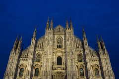 The Duomo (JH Images.co.uk) Tags: milan italy duomo night bluehour twilight hdr dri church cathedral architecture