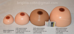 Breastform comparison :) (brigitta.cd) Tags: breastforms crossdresser