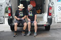Komidi 2018 : Christophe & Michel se concertent (philippeguillot21) Tags: accueil festival komidi aéroport rolandgarros saintemarie gillot réunion france outremer indianocean pixelistes canon