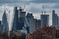 City Of London Skyline And Growing, London (SNeequaye) Tags: london england uk unitedkingdom nikon nikond750 tamron tamron2470mm 2470mm tamron70200mm 70200mm sigma sigma35mm nikon1635mm riverthames towerbridge theshard canarywharf still slowexposure slowshutter eastlondon southlondon northlondon westlondon 122leadenhallstreet cheesegrater herontower tower42 gherkin 20fenchurchstreet 22bishopsgate 100bishopsgate theskygarden view thecity thesquaremile skyline londoneye palaceofwestminster londonbridge millenniumbridge theview architecture building city sky thescalpel
