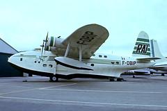 F-OBIP   Short S.25 Sandringham 7 [SB.2022] (Musee de l'Air et de l'Espace) Paris Le-Bourget~F 13/06/1981 (raybarber2) Tags: airportdata cnsb2022 flickr floatplane fobip frenchcivil lfpb preserved proptransport sb2022 slide approachtodo