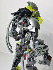 Energy connectors (Tails-N-Doll) Tags: lego bionicle moc toa evil metal iron