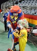 Clown Lessons (Tim7778) Tags: young clowns circus colorful balloons indoors stadium lessons