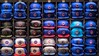 Pick Your Size And Colors (Wes Iversen) Tags: chicago chicagocubs illinois majorleaguebaseball nikkor18300mm wrigleyville baseball baseballcaps black blue hats logos merchandise racks red repetition sizes sports sportsparaphernalia white