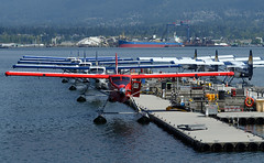 Otter X 8 Symmetry (John W Olafson) Tags: dhc3otter dehavilland harbourair coalharbour vancouver canada150 cfodh symmetry