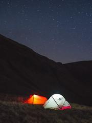 Llyn y Fan Fach, Southern Wales (Try Angus) Tags: msr hubba nx hilleberg nallo 2 tent camp hike wales brecon beacons adventure wanderlust olympus omd em5 mark ii