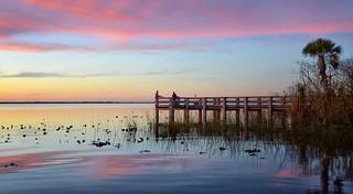 Lake Washington sunset.