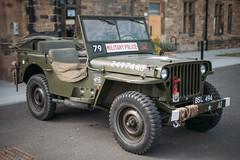 Jeep (Rich Presswood) Tags: fuji fujixpro2 mitakonzhongyi35mmf095 mitakon 1940s car jeep willys ww2 usa american staveleyhall staveley 2018 agfavista100 vsco adobelightroom